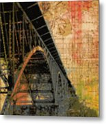 Strawberry Mansion Bridge Philadelphia Pa Metal Print