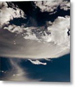 Streakin' Cloud Metal Print