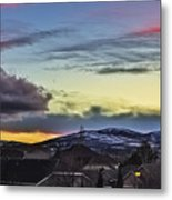 Streaks Of Light Metal Print