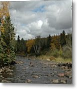 Stream At Tettegouche State Park Metal Print