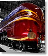 Streamlined For Speed Metal Print