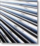 Streamlines Metal Print