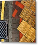 Street Abstract Metal Print
