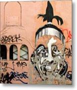 Street Art 1 Metal Print