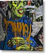 Street Art Lower Manhattan 2 Metal Print