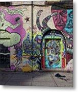 Street Art Wiiliamsburg Brooklyn Metal Print