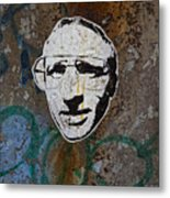 Street Art Wiliamsburg Brooklyn Metal Print