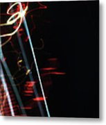 Street Busy Abstract  2 Metal Print
