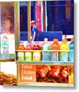 Street Food 3 Metal Print