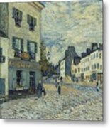 Street In Marly Metal Print