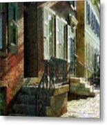 Street In New Castle Delaware Metal Print
