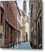 Street In Toulouse Metal Print