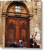 Street Jazz Paris France Metal Print