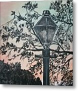 Street Lamp Historic Vintage Art Print Metal Print
