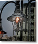Street Lamp Metal Print by Yavor Kanchev