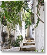 Street Of Marmaris Metal Print