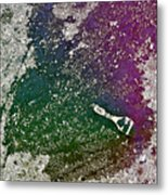 Street Painter Metal Print
