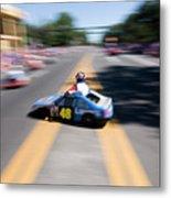 Street Racing Metal Print