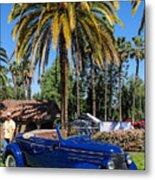 Street Rod In Meguiar's Circle Of Excellence Metal Print