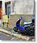 Street View Metal Print