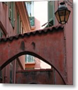 Streets Of Cannes 2 Metal Print