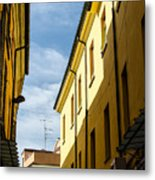 Streets Of Cesena 7 Metal Print