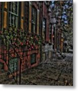 Streets Of Fairmont Metal Print