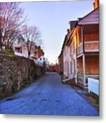 Streets Of Harpers Ferry Metal Print