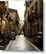 Streets Of Italy - Citta Sant Angelo 2 Metal Print