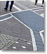 Streets Of Mainz 2 Metal Print