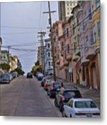 Streets Of San Francisco -2 Metal Print