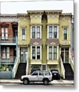 Streets Of San Francisco Metal Print by Julie Gebhardt