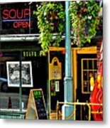 Streetscape 1 Soup Metal Print