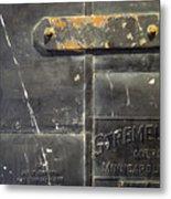 Stremel Bros. Firedoor Metal Print