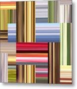 Stretch Of Colors Metal Print