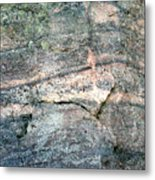 Striations 2 Metal Print