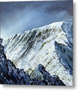 Striding Edge On Helvellin Metal Print