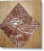 Strike - Tile Metal Print