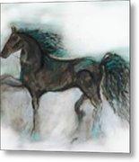 Striking Stallion Metal Print