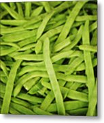String Bean Heaven Metal Print