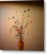 String Bouquet Metal Print