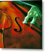 Strings Metal Print by Naman Imagery