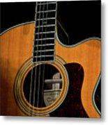 Strings Of My Heart... Metal Print