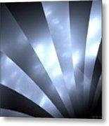 Stripes And Sky Metal Print