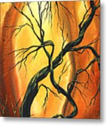Striving To Be The Best By Madart Metal Print by Megan Duncanson