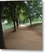 Stroll On Mulberry Row Monticello Metal Print