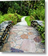 Strolling Through Paradise Metal Print