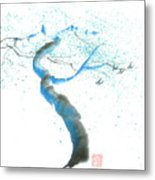 Strong Wind Metal Print