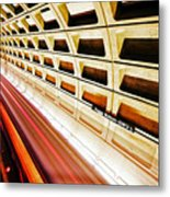 Stronger In The Contrast Metal Print
