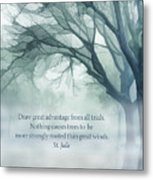 Strongly Rooted Metal Print